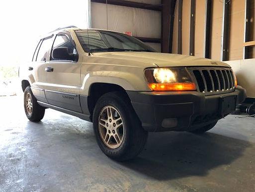 2001 Stone White Jeep Grand Cherokee 4x4