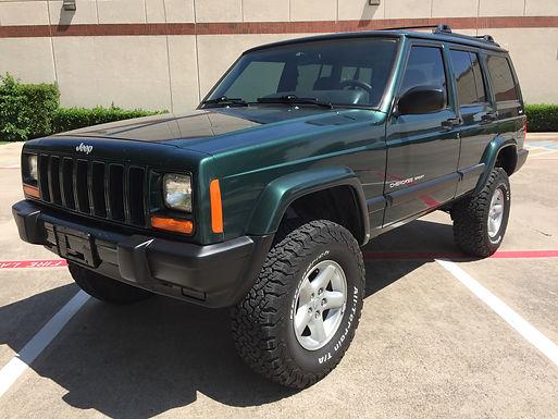 2001 Forest Green Jeep Cherokee XJ 4x4