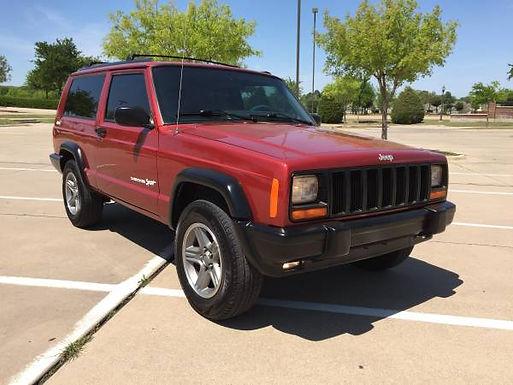 1998 Chili Pepper Red 2-Door Jeep Cherokee XJ 4x4