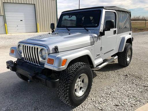 2005 Bright Silver Metallic Jeep Wrangler TJ Unlimited