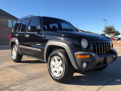 2004 Black Jeep Liberty