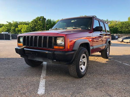 1998 Chili Pepper Red Jeep Cherokee XJ 4x4