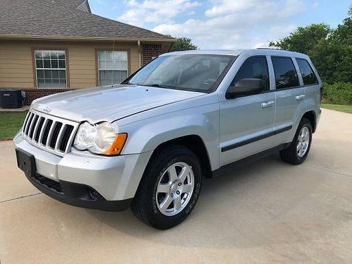 2008 Bright Silver Metallic Jeep Grand Cherokee Laredo