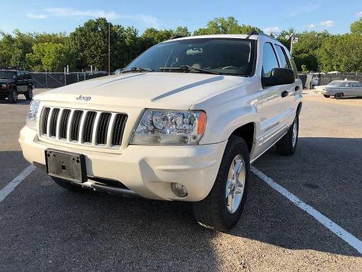 2004 Stone White Jeep Grand Cherokee WJ