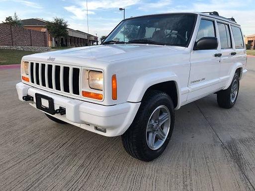 2000 Stone White Cherokee Classic 4x4