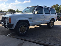 1989 Pearl White 4x4 Limited