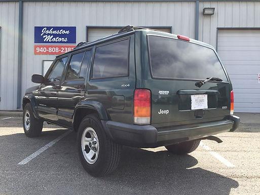 2000 Jeep Cherokee XJ Sport Forest Green 4x4