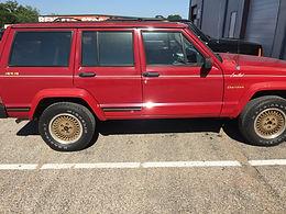 1990 Colorado Red Jeep Cherokee XJ Limited