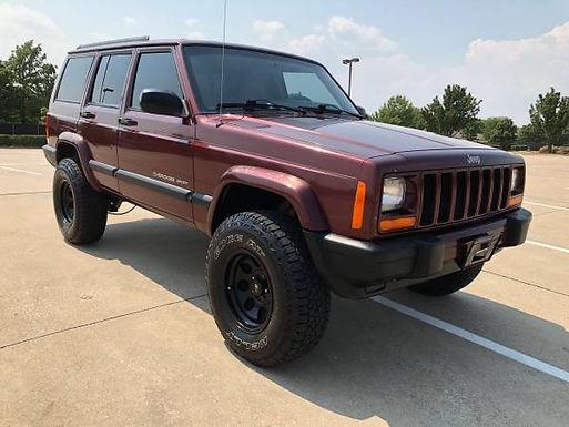 2000 Sienna Pearl Jeep Cherokee Sport 4x4