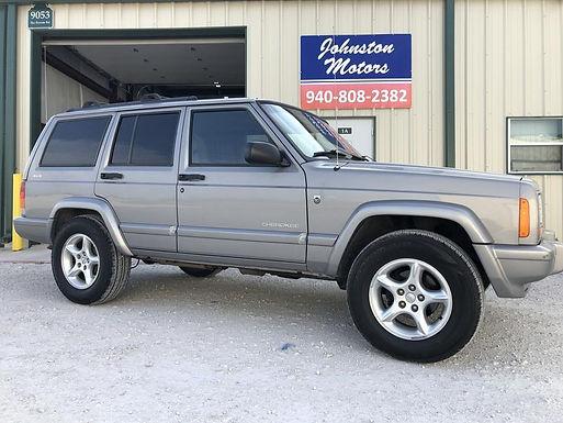 2001 Silver Metallic Jeep Cherokee XJ 60th Anniversary Edition 4x4