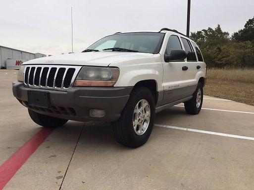2000 Stone White Jeep Grand Cherokee Laredo
