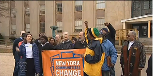 Rally held in Mineola to support state bail reform laws to go into effect in 2020