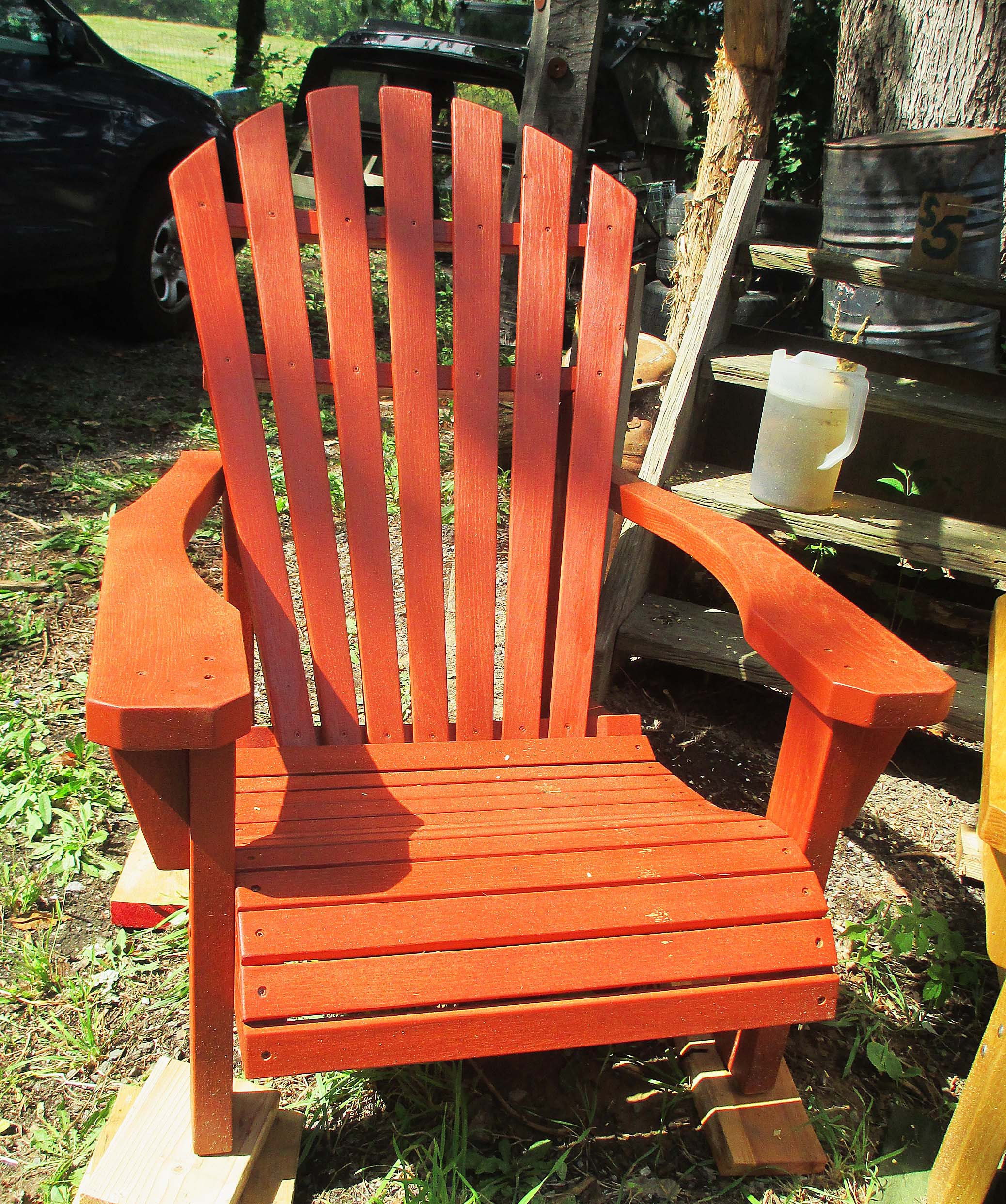 Red Hudson Valley Adirondack Chair