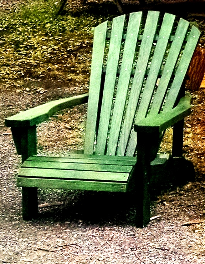 Green Hudson Valley Adirondack Chair