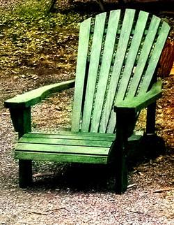 Green Hudson Valley Adirondack Chair