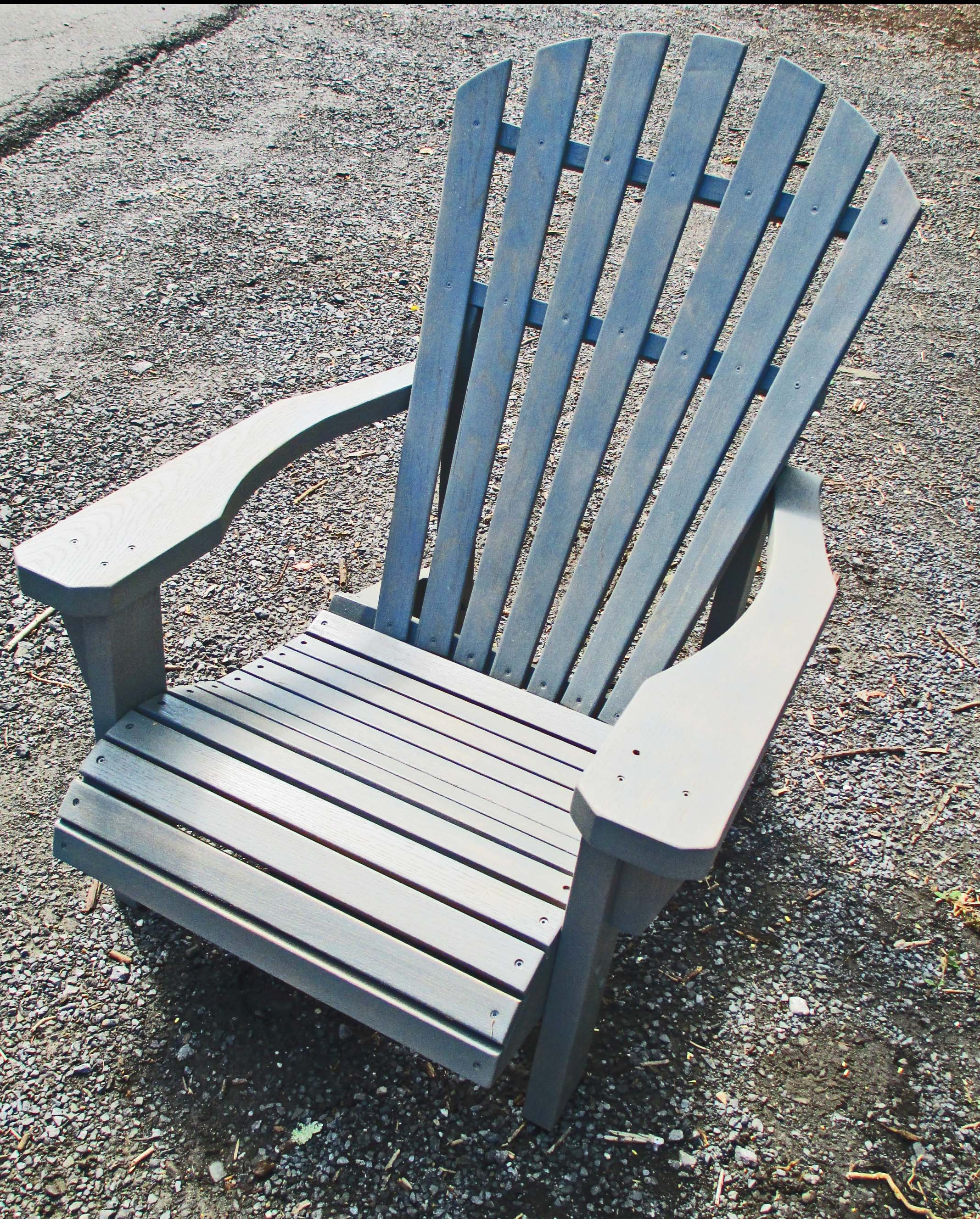 Grey Hudson Valley Adirondack Chair