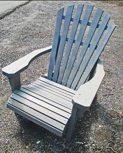 Grey Hudson Valley Adirondack Chair