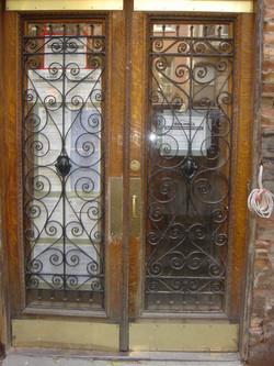 ornate architectural gate