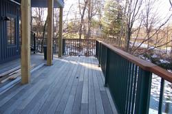Buttermilk railings