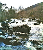 Near River Spey for fishing