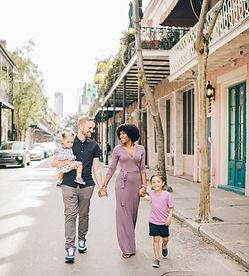 New Orleans French Quarter Family Photographer