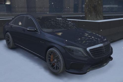 Mercedes Benz S63 2014