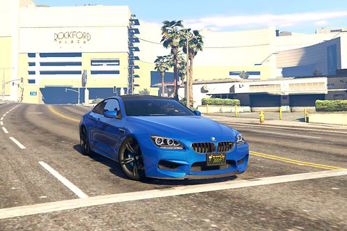 BMW M6 F13 Shadow Line