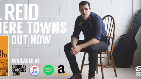 Paul Reid's 'Nowhere Towns' Out Now.