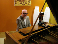 Paul Grabowsky at the Pfeiffer Grand Piano.