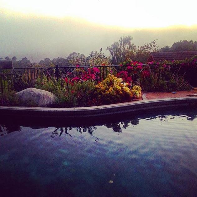 Santa Cruz, Mist and Hills