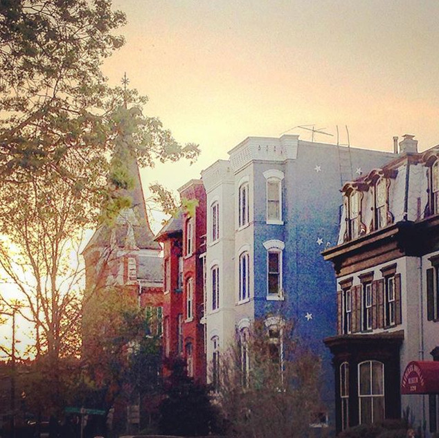 Spring sunset, Capitol Hill__#spring #su