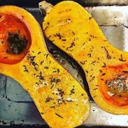 Fall lunch roast and glow__#orange #yell