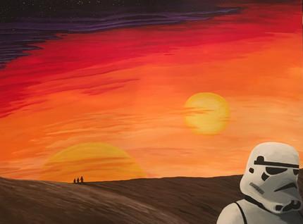 """""""Tatooine Storm Trooper"""" Fan Art"""