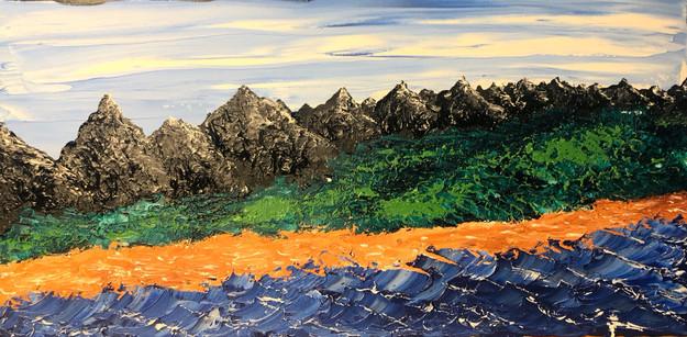 """Where mountain and ocean meet"""