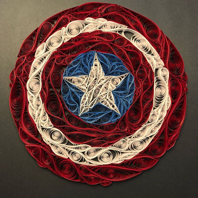 Captain America Shield is finished! This