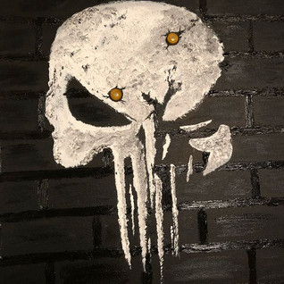 """""""Punisher brick wall"""" Fan Art"""