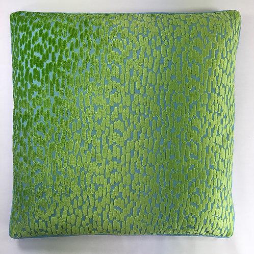 JELLY BEAN BLUE GREEN VELVET 22 J39385