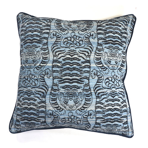TIGER CHINA BLUE WOVEN 22 J87280