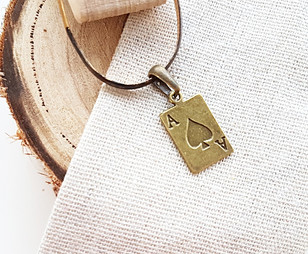 ace of spades charm