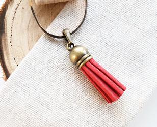 red tassel charm
