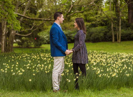 Engagement session at Jardins du Luxembourg