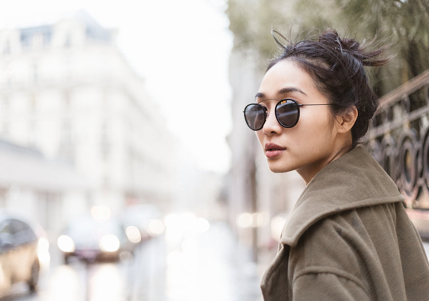 paris photo shoot girl