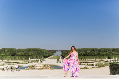 versailles castle photo shoot