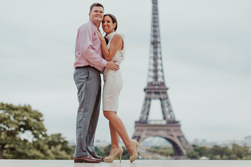 paris elopement photo session
