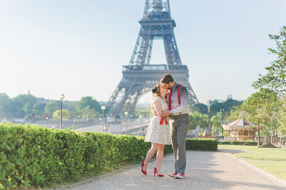 Paris Photo session couple Eiffel Tower #Paris #parisphotographer #couple #portrait #parispics Paris Photo shoot I love Paris photography professional photographer Paris love couple kiss me in Paris photography in Paris honeymoon Eiffel Tower photos