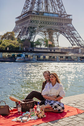 paris photo session picnic