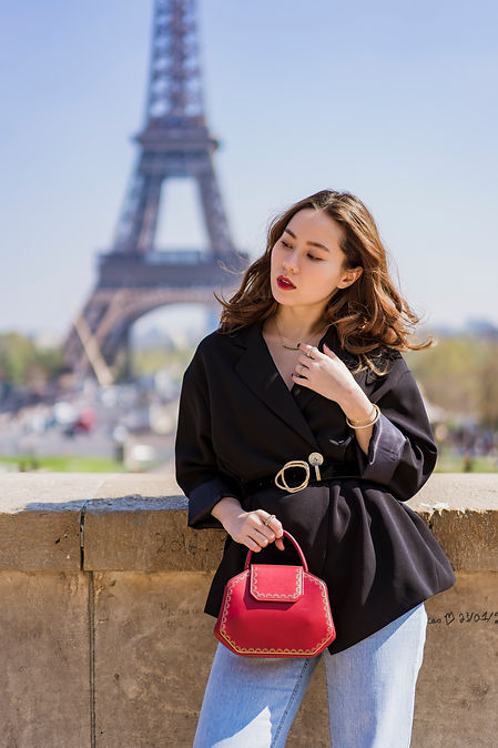 solo portrait session in Paris