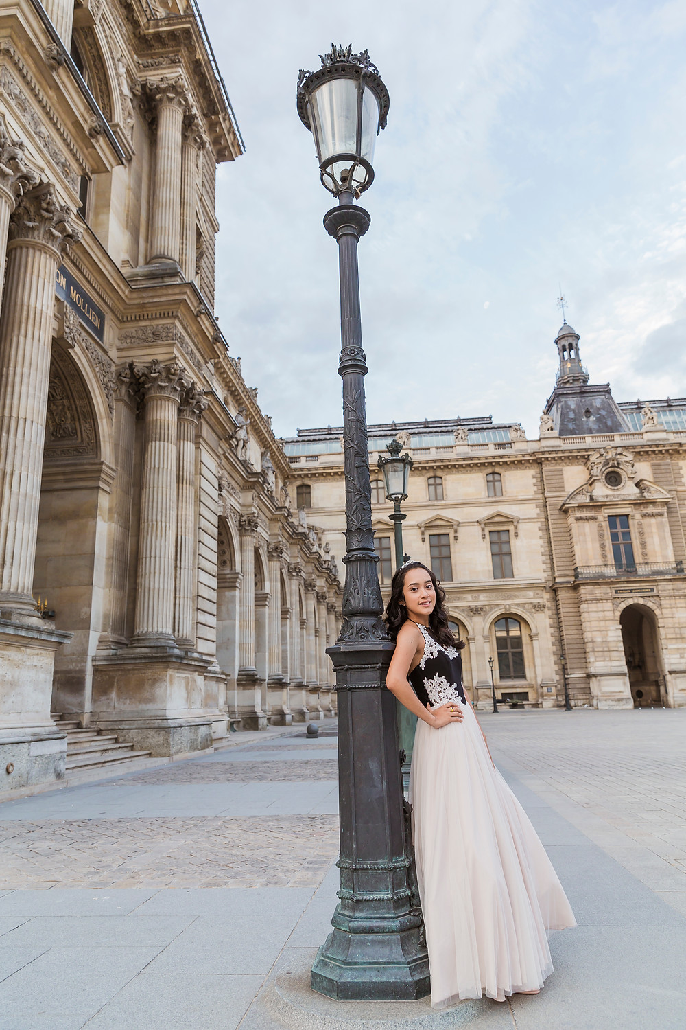 sweet fifteen paris photo session