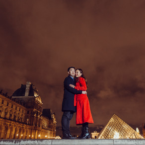 nights session paris photography