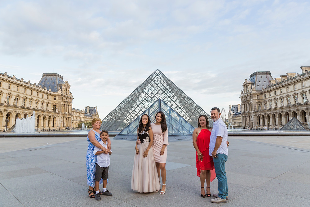 family photo session paris